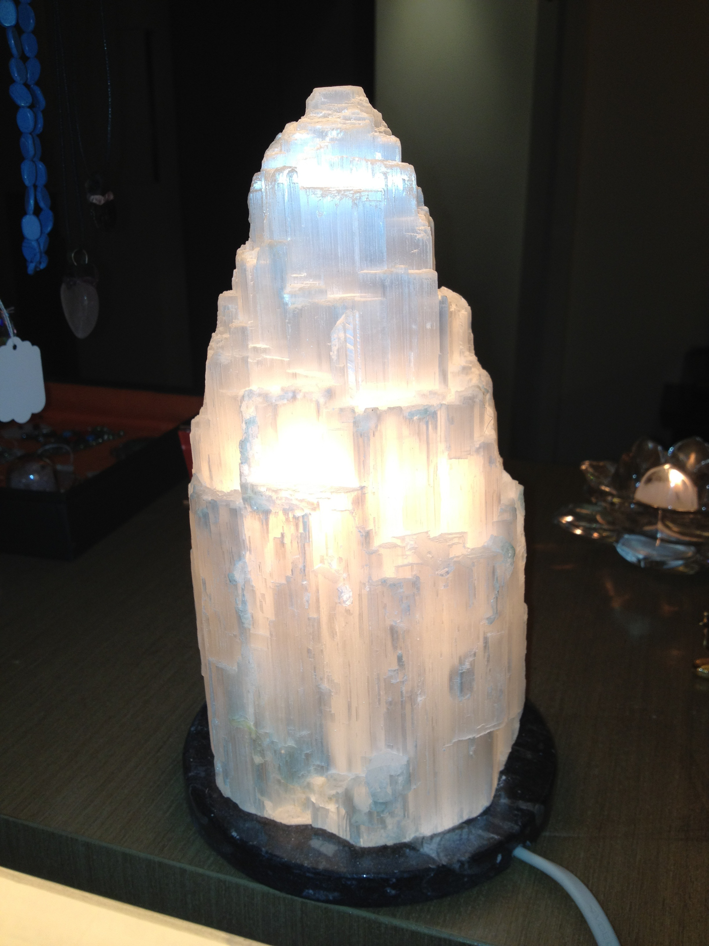 Captivating Selenite Lamps
